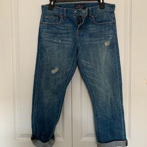 Lucky brand crop jeans
